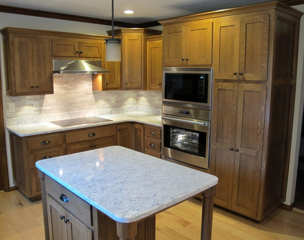 Quartersawn White Oak Kitchen And Bathroom Randall Cabinets Design