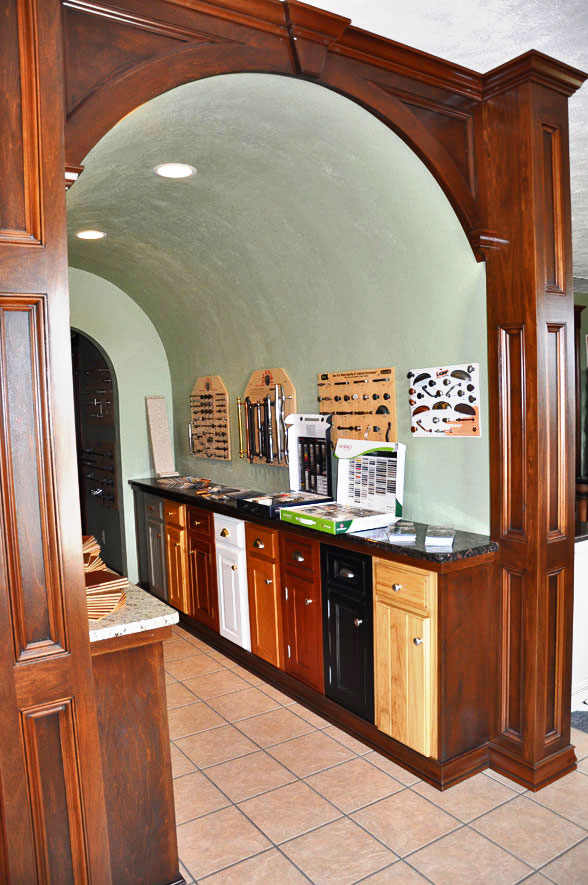 Sub Zero Hours >> Arch Doorway Cover in Wood – Randall Cabinets & Design